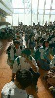 修学旅行団 羽田空港第2旅客ターミナルに到着しました