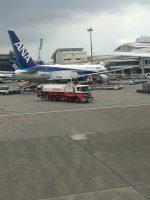 修学旅行団 那覇空港に到着しました