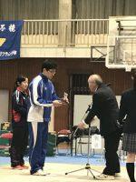 祝 優勝 関東高等学校ウエイトリフティング競技選抜大会