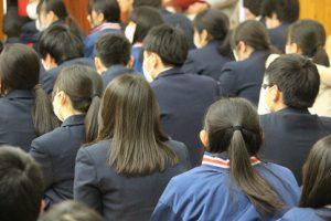 大学入試センター試験事前指導・激励会が行われました