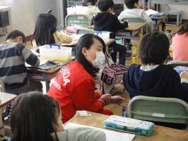 教育ボランティアが行われています