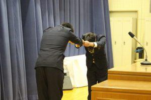平成29年度 表彰状授与式・記念品贈呈式を行いました