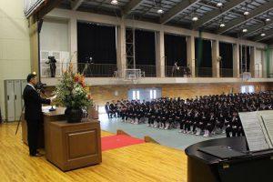 平成29年度 第68回卒業証書授与式
