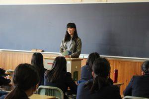 平成29年度1・2学年オープンスタディー(OS)「卒業生の話を聞く会」が行われました