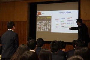 平成29年度第2学年英語科「英語4技能」対策ワークショップが行われました