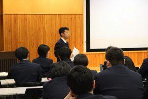 平成29年度1・2年生合同「吉高GP振り返り」集会が行われました