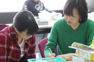 平成29年度理数科春季宿泊学習会が行われています