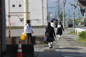 平成30年度山梨県高等学校県下一斉「通学時マナーアップ運動」第1回目が行われました