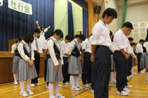 平成30年度関東大会壮行会を行いました
