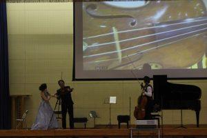本物に触れる~N響・OGによる室内楽コンサートが行われました~