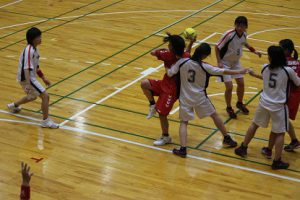 山梨県高等学校総合体育大会2日目の様子です