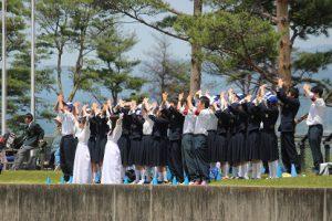 平成30年度山梨県高等学校総合体育大会 学校対抗 女子総合第4位入賞