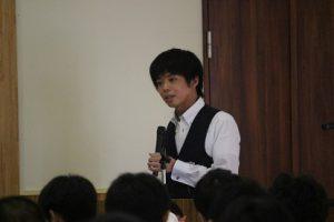 第3学年進路講演会が行われました
