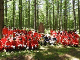 学校林整備事業が行われました