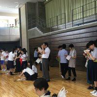 祝 優秀賞 第8回山梨県高等学校書道パフォーマンス大会(書道部)