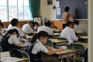平成30年度夏期登校学習会(1年生)の様子です