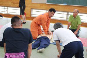 「大事な命を守るために」心肺蘇生法講習会が行われました
