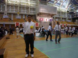 第71回山梨県体育祭り表彰式が行われました