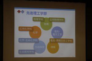 理工系志望者に対する「意欲向上のための講座」が行われました