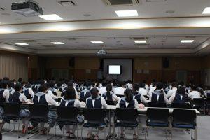 総合的な学習の時間「楽問楽学」講座が行われました