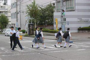 平成30年度通学時マナーアップ運動が行われました