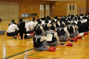 平成30年度第1学年進路学習会が行われました~中学生からの脱却、高校生としての進路選択~