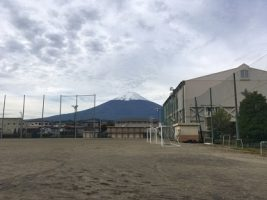 10月16日(火)の富士山です