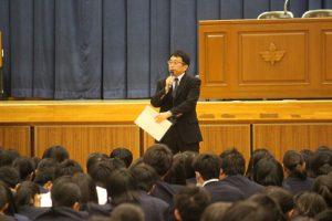 平成30年度後期生徒総会が行われました