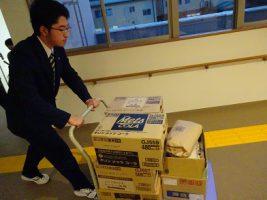 「吉田高校フードドライブ2018冬」 ご協力ありがとうございました