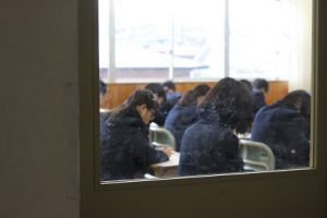 後期第1回定期試験1日目が始まりました(1・2年生)