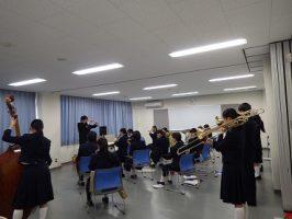 第3回山梨吹奏楽コンクール新人戦が開催されました