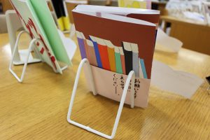 美術Ⅲ 「ブックデザイン~好きな本のカバーをデザインしてみよう!」
