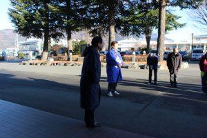 平成30年度山梨県高等学校県下一斉「通学時マナーアップ運動」行われました