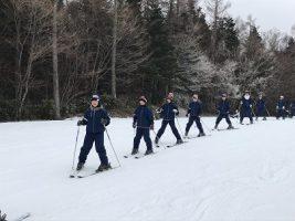 平成30年度第1学年スキー教室の様子です