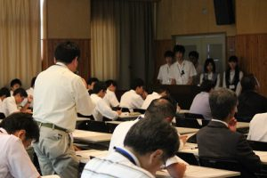 令和元年度 理数科「課題研究」発表会のご案内です