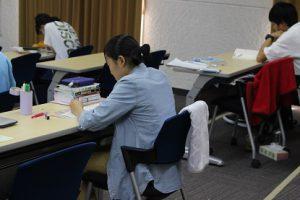 令和元年度理数科夏期宿泊学習会の様子です