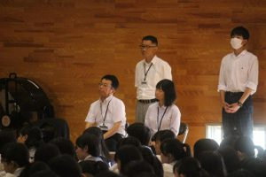 令和元年8月20日(火)学校が始まりました