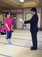 2019年度関東地区高等学校小倉百人一首かるた大会山梨県予選が行われました