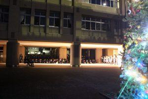 令和元年度クリスマスツリー点灯式が行われました