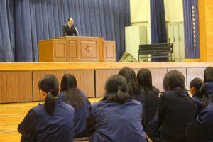 令和元年度休業前集会が行われました