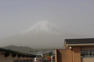 吉高の風景~富士山の農鳥~